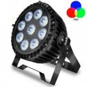 Foco Proyector Exterior LED  90W  RGB+W  DMX  WATER