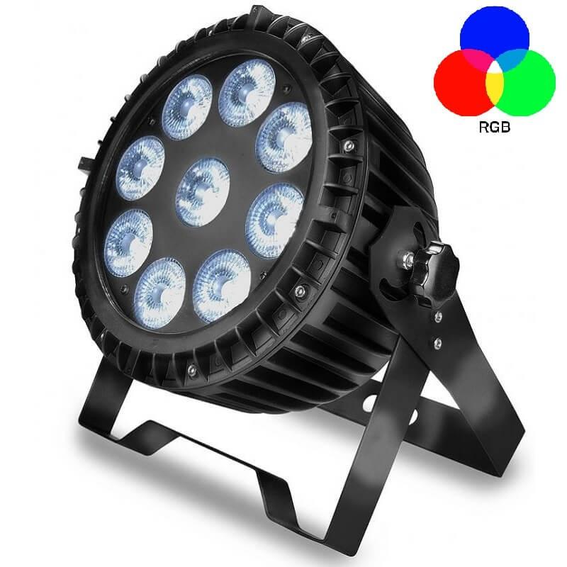 Foco Proyector Exterior LED  90W  RGB+W  DMX  WATER - Imagen 1