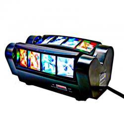 Cabeza Móvil Doble LED 24W KENTUKY Barra DMX