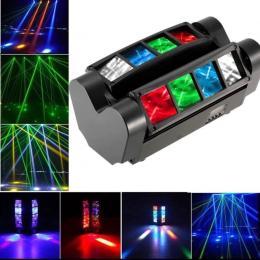 Cabeza Móvil Doble LED 24W KENTUKY Barra DMX - Imagen 2