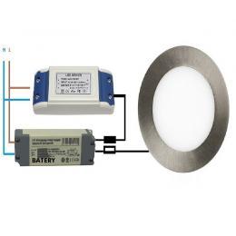 Bateria de Emergencia para luminaria LED - Max.50W - Imagen 2