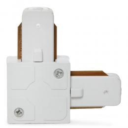 Conector 90º Carril Focos LED Blanco - Imagen 2