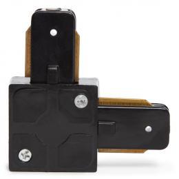 Conector 90º Carril Focos LED Negro - Imagen 2