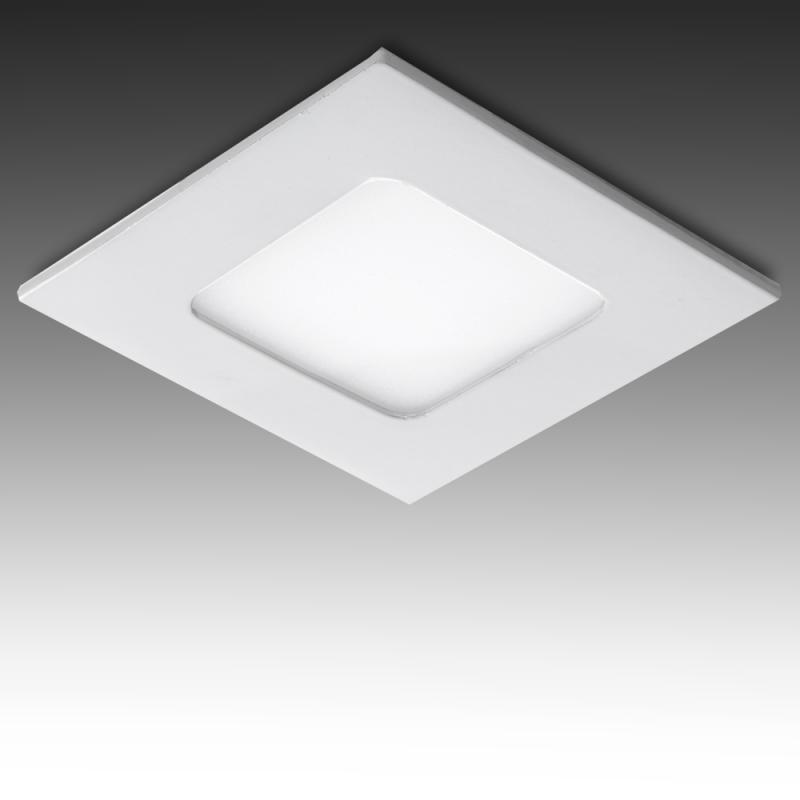 Placa Led Cuadrada  3W Blanco - Imagen 1