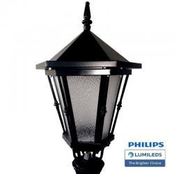 Farola Romanico Aluminio LED 40W LUMILEDS