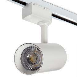 Foco Carril LED Monofásico ROMA 30W 3000Lm 30,000H Blanco