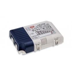 LCM-25 Led Driver Entrada:180-277VAC Salida:6-54VDC Corriente Constante 350-1050mA 18,9-25,2WPFC Regulable 0-10V-PWM-Resist