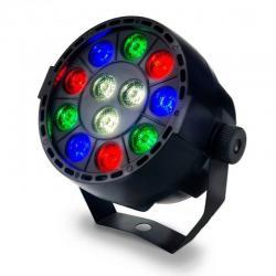 Foco Mini PAR LED 36W MONTANA  RGB + Blanco - DMX