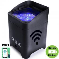 Foco LED 90W EVENT con BATERIA Control WiFi Smartphone + DMX