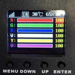 Foco LED 90W EVENT con BATERIA Control WiFi Smartphone + DMX - Imagen 2