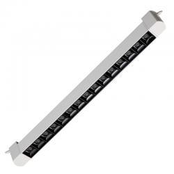 Foco LED 15W LINEAL MUNICH para Carril Monofásico 36º UGR17 - Imagen 1
