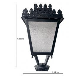 Farola Alcazar Aluminio LED 40W LUMILEDS - Imagen 2