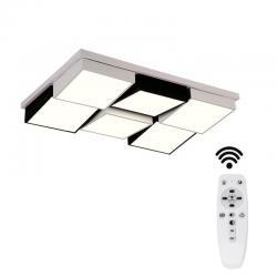 Plafón LED Superficie 90W - DORTMUND - CCT Mando a distancia