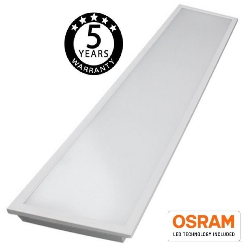 Panel LED 120x30 cm 50W OSRAM Chip - 140lm/W - Imagen 1