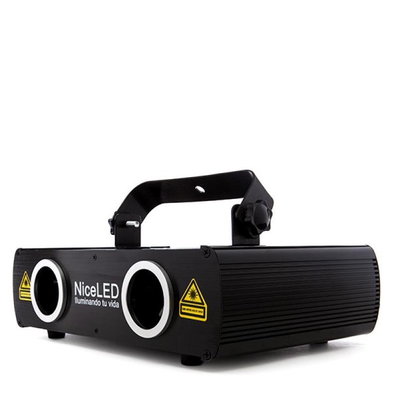Efecto Laser Verde/Azúl 380Mw (80+300Mw) 450Nm - Imagen 1