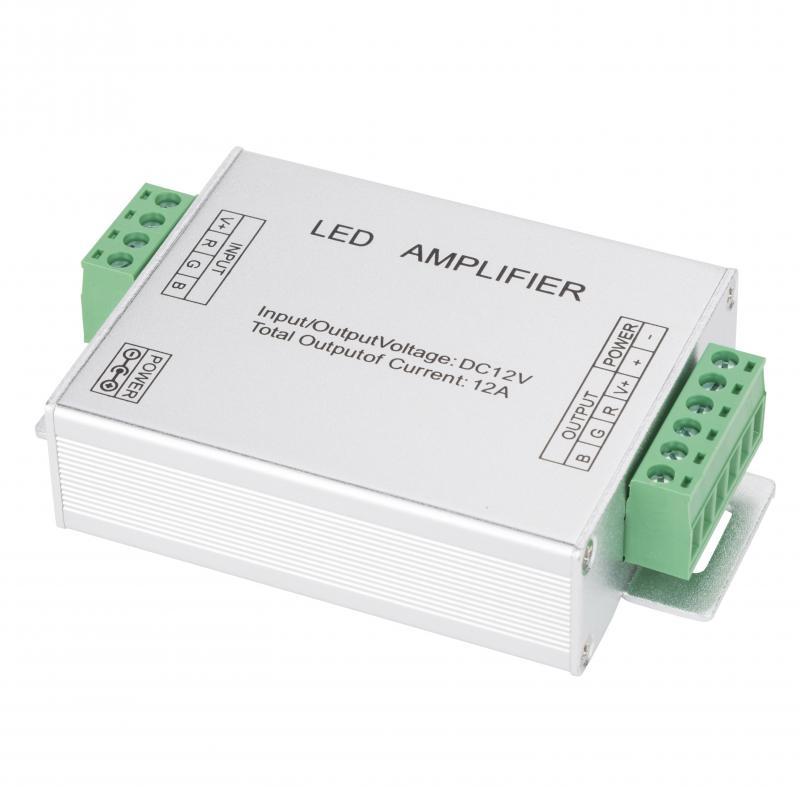 Amplificador RGB 12VDC IP25 Max. 144W - Imagen 1