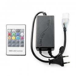Controlador Tira LED RGB 220VAC Mando a Distancia ► 50M