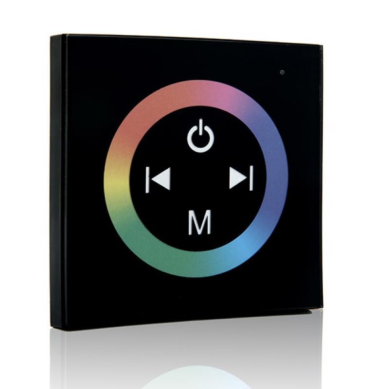 Controlador Empotrable Táctil Tira LED RGB 12-24VDC ► 144/288W - Imagen 1