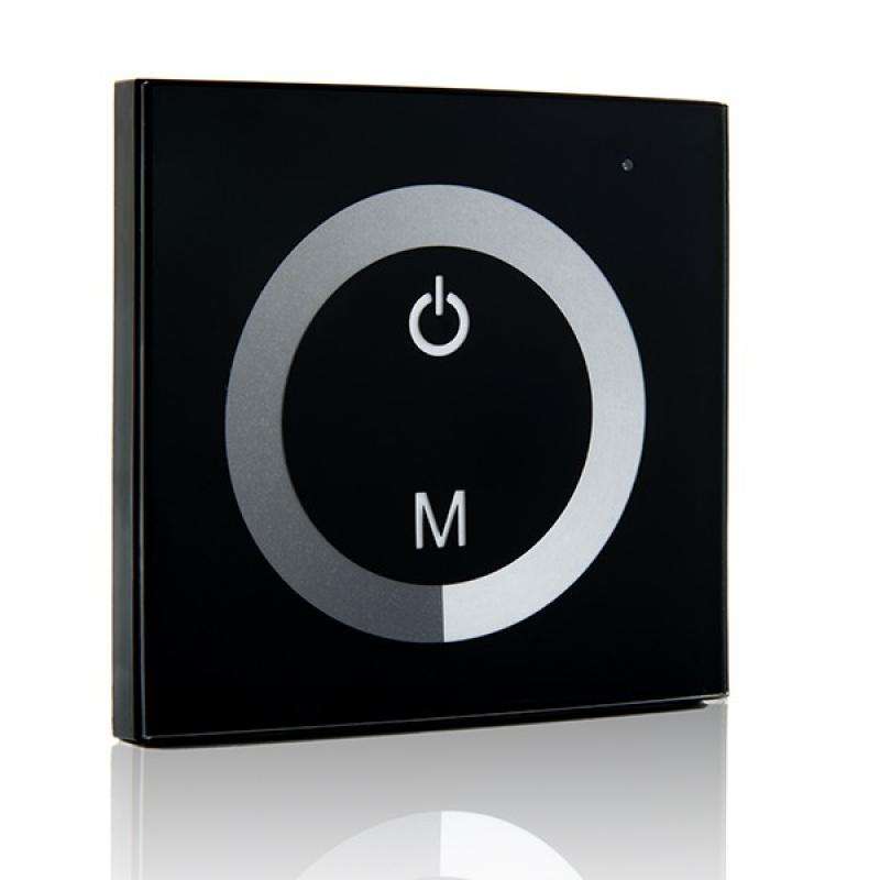 Dimmer Empotrable Táctil Tira LED Unicolor 12-24VDC ► 144/288W - Imagen 1