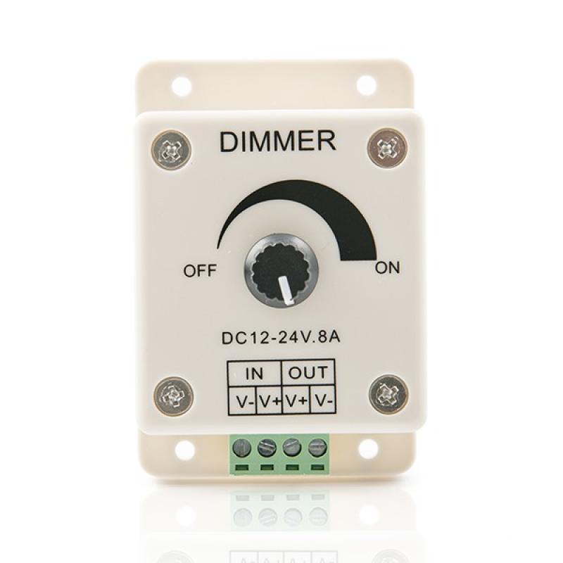Dimmer Tira LED 12-24VDC ► 96/192W - Imagen 1