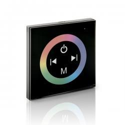 Controlador Empotrable Táctil Mando a Distancia Tira RGB 12-24VDC ► 144/288W