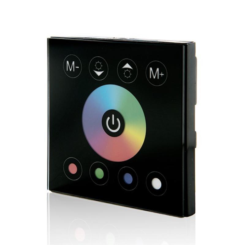 Controlador Empotrable Táctil Tira LED RGBw 12-24VDC ► 192/384W - Imagen 1