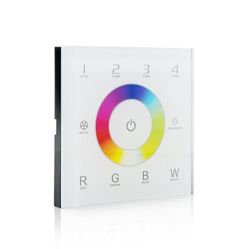 Controlador Rgwb Táctil a Distancia 4 Zonas DMX512 - Imagen 1