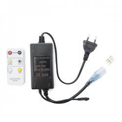 Enchufe Controlador Tira LED 230VAC Frío/Cálido