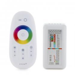 Controlador 2,4G Tira LED RGB-Blanco Mando a Distancia 12-24VDC ► 288/576W