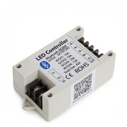 Controlador Tira LED RGBw Bluetooth Smartphone 12-24VDC 500-1000W