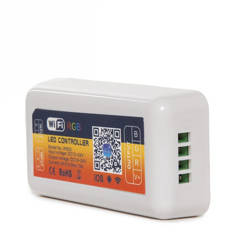 Controlador Wifi Tira LED RGB - Compatible Alexa - Imagen 1