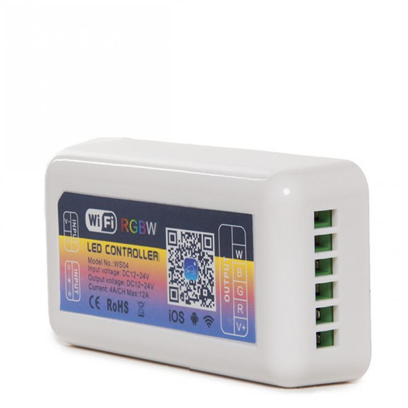 Controlador Wifi Tira LED RGB/Blanco - Compatible Alexa - Imagen 1