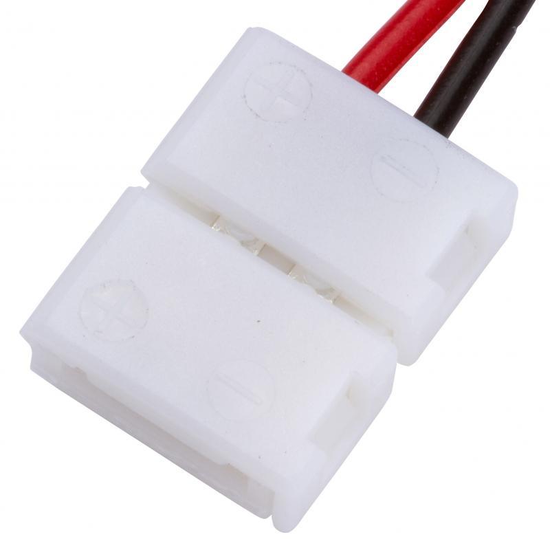 Conector Tira LED SMD3528/2835 2 Vías Simple 12/24VDC - Imagen 1