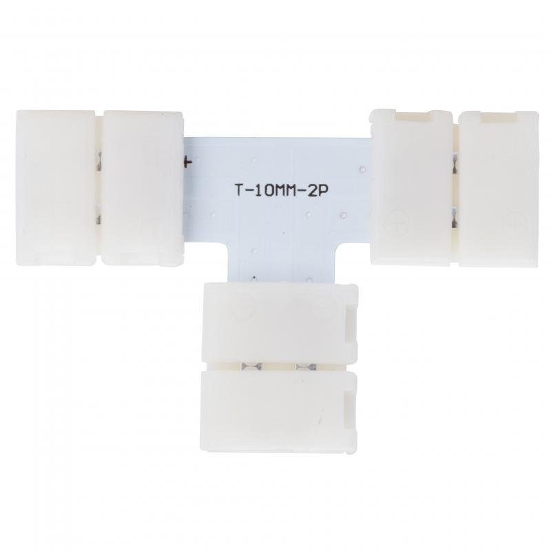 Conector Rápido T Tira LED 12/24VDC SMD5050/5630 - Imagen 1