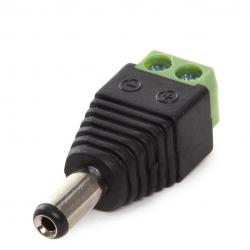 Conector Dc IP65 Macho - Imagen 1