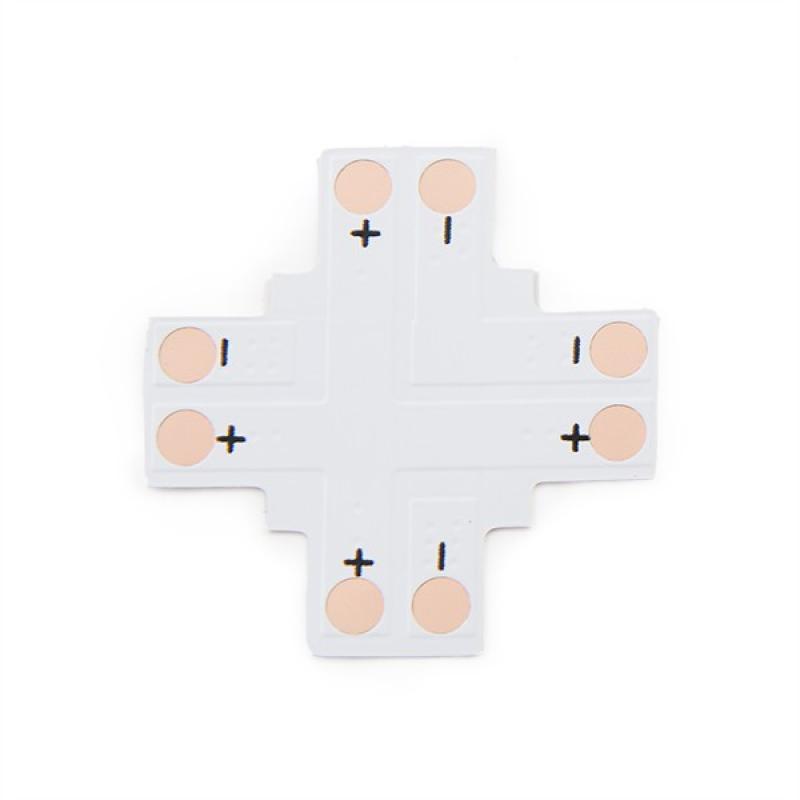 Conector Soldar + Tira LED 8Mm - Imagen 1