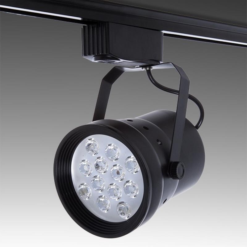 Foco Carril LED Monofásico 12W 1200Lm 30.000H Hadley - Imagen 1