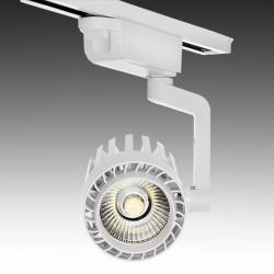 Foco Carril LED Monofásico 30W 2600Lm 30.000H Faith IDI-FC-D-30-CW - Imagen 1