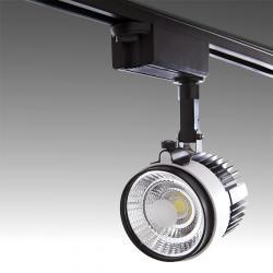 Foco Carril LED Bifásico COB 30W 2700Lm 30.000H Emery