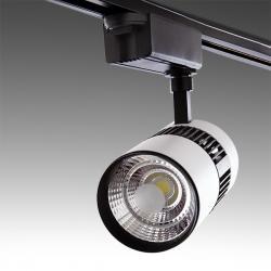 Foco Carril LED Bifásico 20W 2000Lm 30.000H Kylie