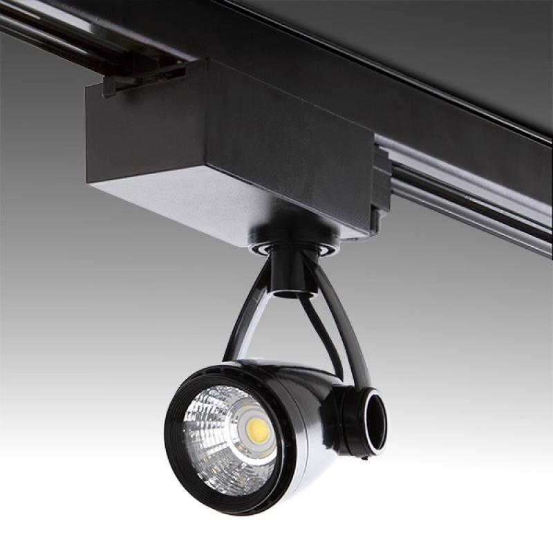 Foco Carril LED Trifásico 9W 810Lm 30.000H Norah - Imagen 1