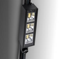 Foco Carril LED Trifásico Lineal 30W 3900Lm Epistar/Philips 50.000H