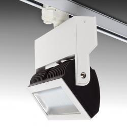 Foco Carril LED Trifásico 25W 2610Lm 50.000H Margaret