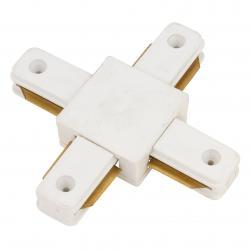 Conector X Carril Monofásico Blanco - Imagen 1