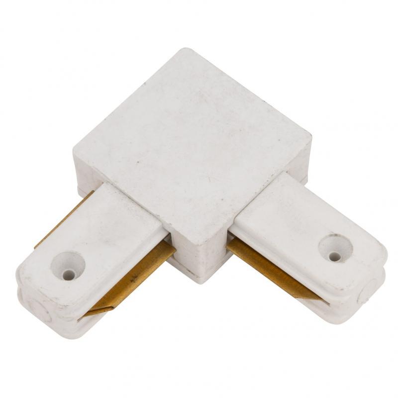 Conector 90º Carril Monofásico Blanco - Imagen 1