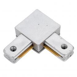 Conector 90º Carril Monofásico Aluminio - Imagen 1