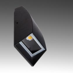 Aplique LED IP54 2X3W 600Lm 30.000H - Imagen 1
