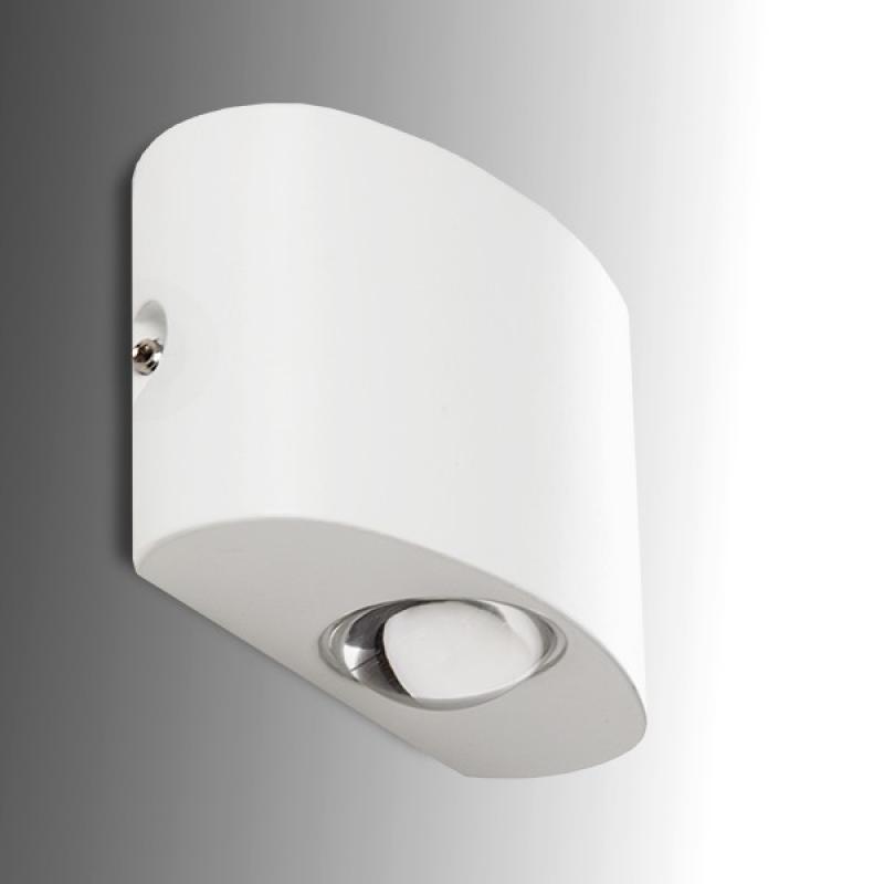 Aplique LED IP65 1+1W 180Lm 30.000H Brooklyn - Imagen 1