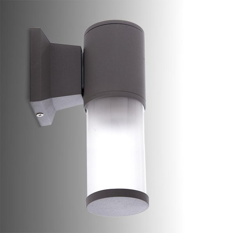 Aplique de Pared IP65 (Sin Lámpara) E27 Ø110Mm Gris Victoria - Imagen 1