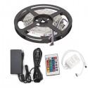 Tira LED 300 X SMD 5050 5M Multicolor RGB IP33 Transformador/Controlador